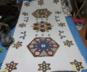 Center panel, there are three border panels to add ...